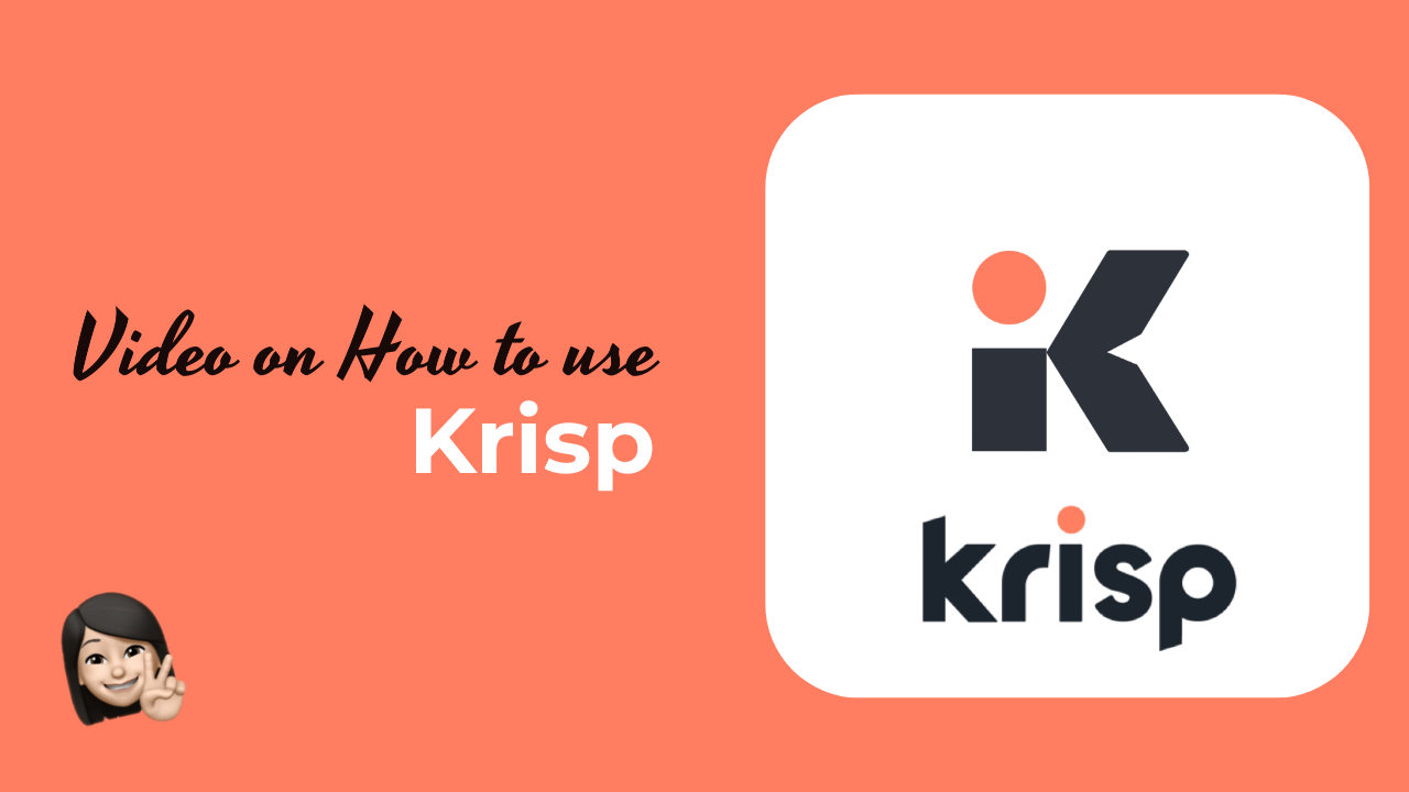 How to use Krisp - Noise Cancellation Tool